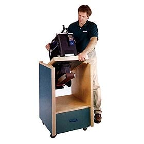 Swivel-Topped Tool Cabinet Woodworking Plan