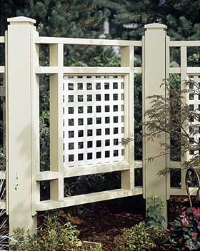 Good Neighbor Fence Woodworking Plan