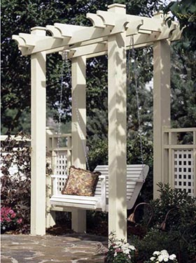 Arbor Woodworking Plan - Product Code DP-00328