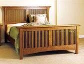 Arts & Crafts Bed Woodworking Plan