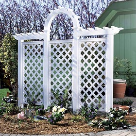 Arched Trellis Woodworking Plan - Product Code DP-00458