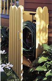 Garden Hose Hider Woodworking Plan