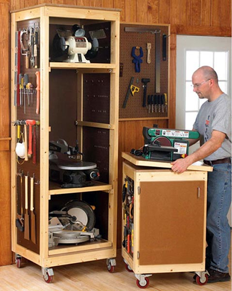Bench-tool System Woodworking Plan - Product Code DP-00560