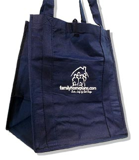 Family Home Plans Eco Bag - Product Code ECOBAG