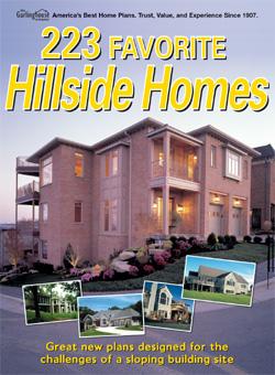 Favorite hillside homes at for Home plans for hillside lots