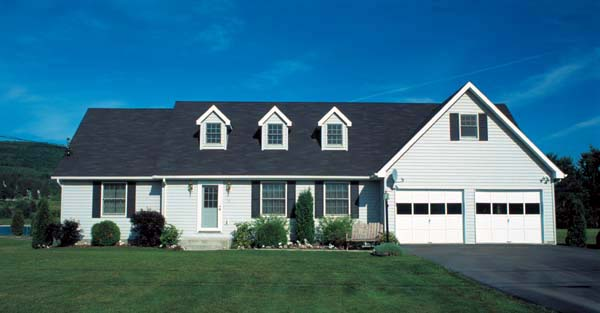 Traditional , Country , Cape Cod House Plan 10386 with 3 Beds, 2 Baths, 2 Car Garage Elevation