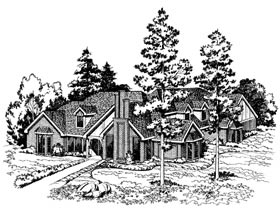 Contemporary Traditional House Plan 10419 Elevation