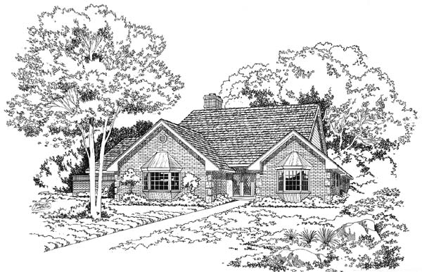 Traditional House Plan 10443 Elevation