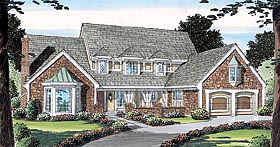 Country European House Plan 10534 Elevation