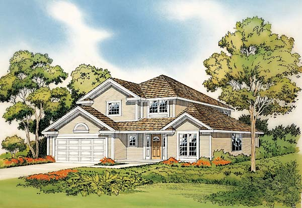 Traditional House Plan 10683 Elevation