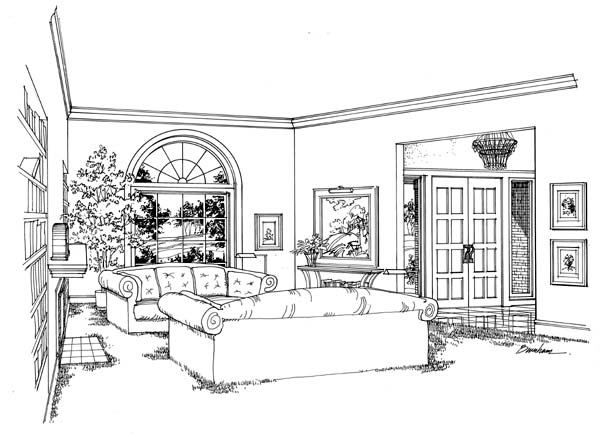 European, Traditional House Plan 10696 with 4 Beds, 4 Baths, 3 Car Garage Picture 1