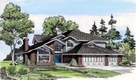Contemporary Traditional House Plan 10758 Elevation