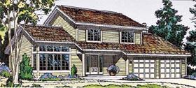 Retro Traditional House Plan 10787 Elevation