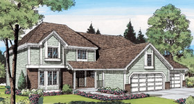 Traditional House Plan 10809 Elevation