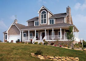 Country Farmhouse Southern Traditional House Plan 10862 Elevation