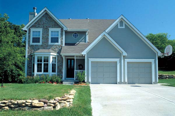 Country Traditional House Plan 20070 Elevation