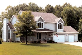 Country, Farmhouse, Southern, Traditional House Plan 20096 with 3 Beds, 4 Baths, 2 Car Garage Picture 1