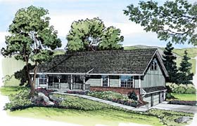 Country Traditional House Plan 20111 Elevation