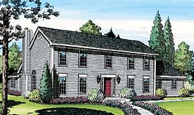 Saltbox Colonial House Plans | Saltbox House Plans At Familyhomeplans Com
