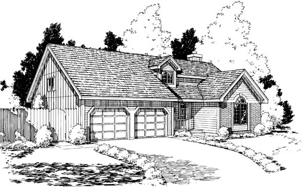 Traditional House Plan 20171 Elevation