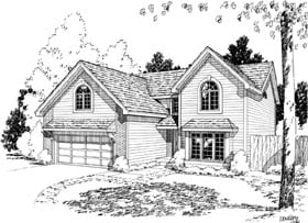 Traditional House Plan 20185 Elevation