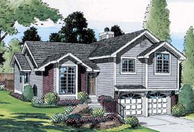 Traditional House Plan 20218 Elevation