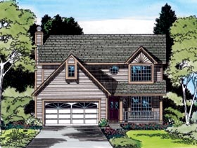 Bungalow Country Traditional House Plan 20219 Elevation