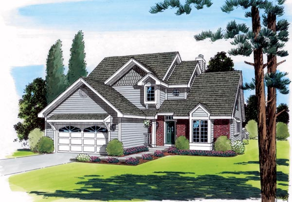 Traditional House Plan 20221 Elevation