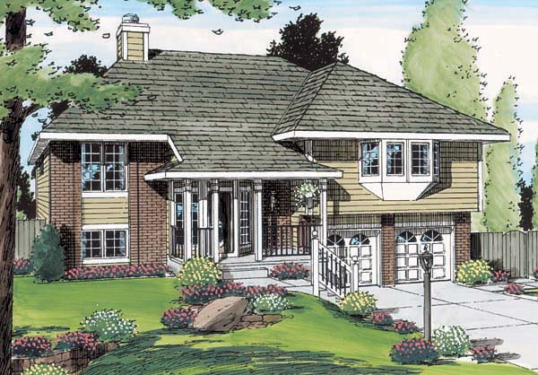 Traditional House Plan 20224 Elevation