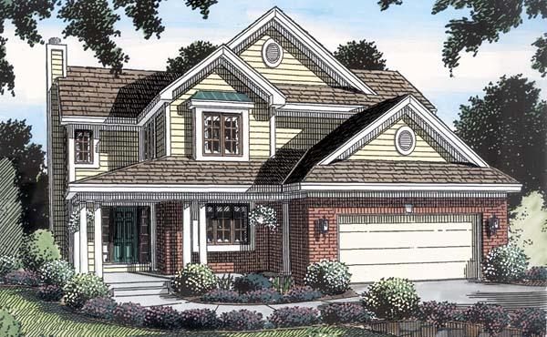 Traditional House Plan 20226 Elevation