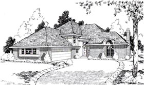 Plan Number 20502 - 2645 Square Feet