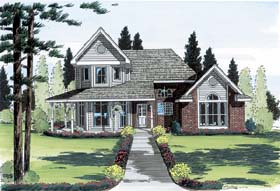 Country Farmhouse House Plan 20505 Elevation