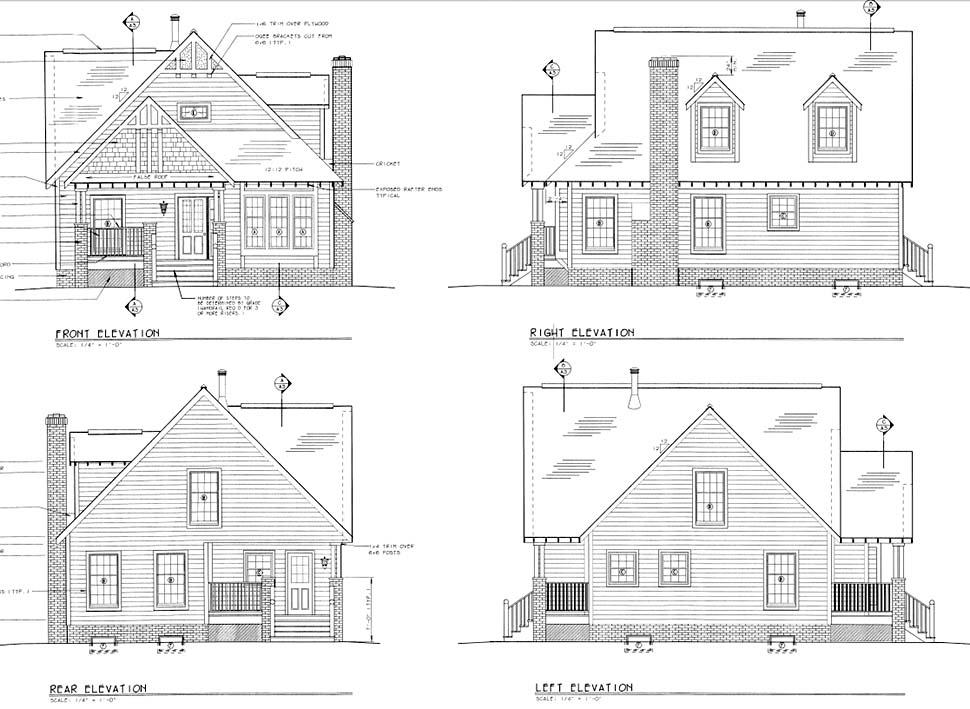 Craftsman Style House Plan 24242 with 4 Bed, 3 Bath on zero carbon, zero time, zero power, zero short film,