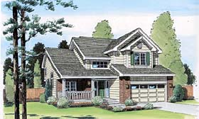 Traditional House Plan 24269 Elevation