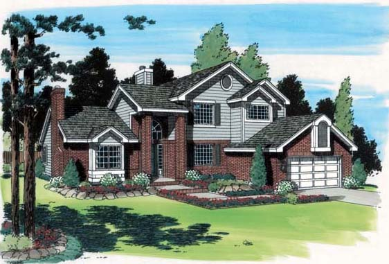 Traditional House Plan 24300 Elevation