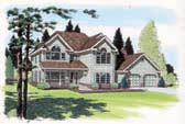 Plan Number 24401 - 2699 Square Feet