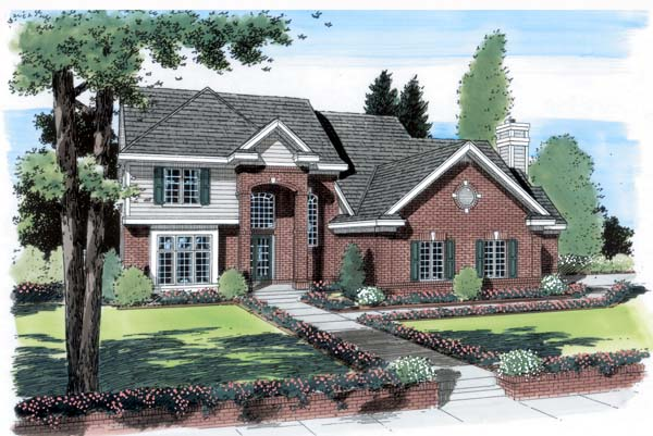 Traditional House Plan 24612 Elevation