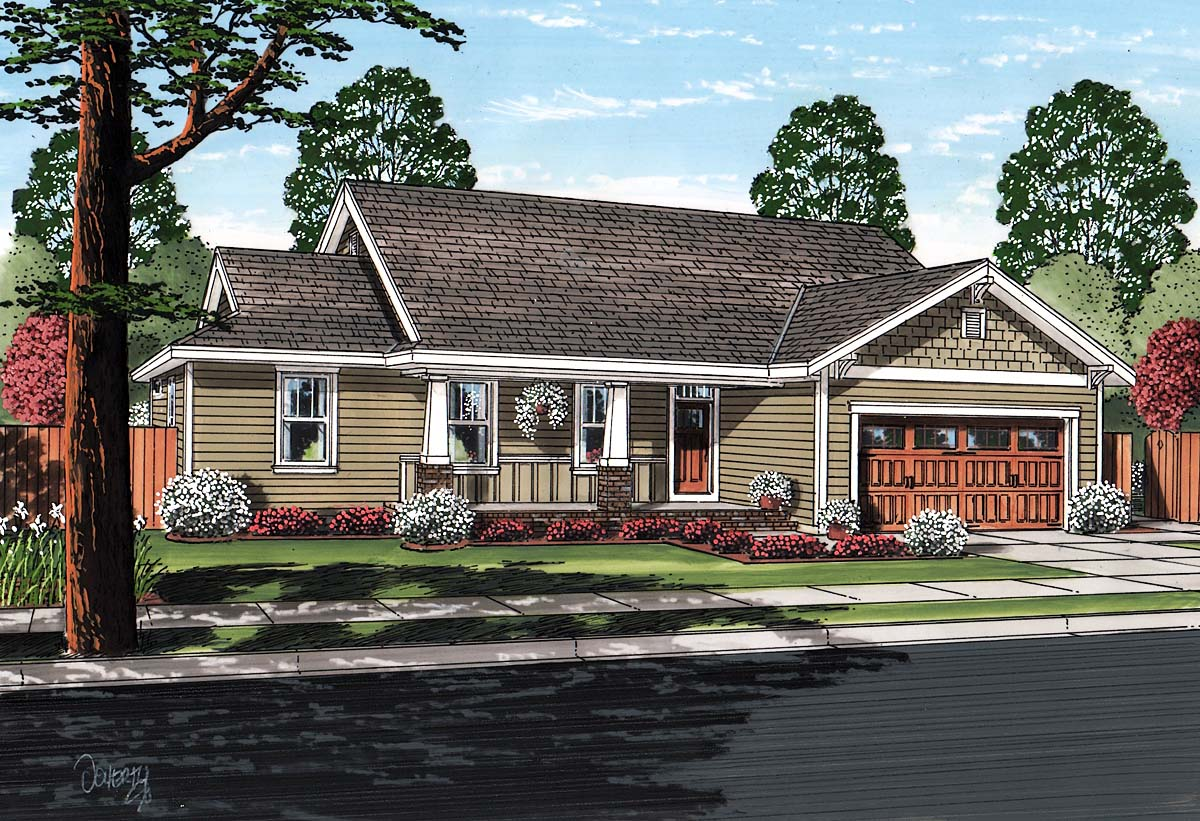 N Home Elevation Zip : House plan at family home plans