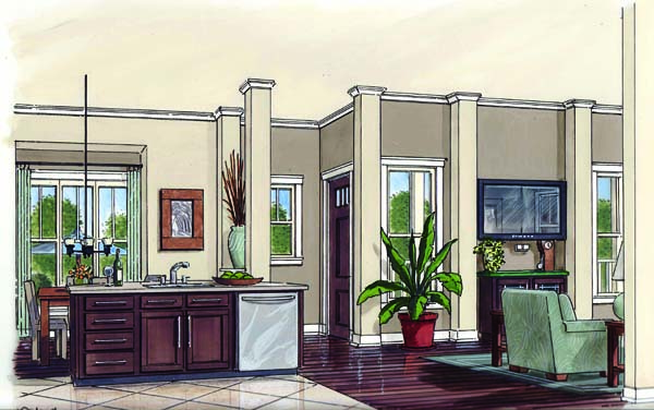 Bungalow, Cottage, Craftsman, Traditional House Plan 30508 with 3 Beds, 2 Baths Picture 1