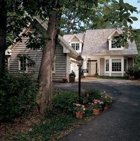 Cape Cod, Contemporary, Country, Traditional House Plan 32025 with 4 Beds, 4 Baths Elevation