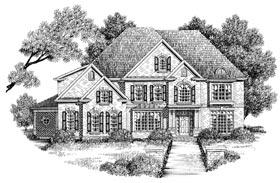 Plan Number 32244 - 3960 Square Feet