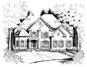 Plan Number 32249 - 3151 Square Feet