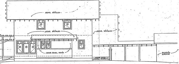 Bungalow Contemporary Craftsman House Plan 32533 Rear Elevation