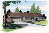Plan Number 34002 - 1092 Square Feet