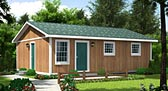 Plan Number 34020 - 768 Square Feet