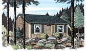 Plan Number 34075 - 592 Square Feet