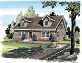 Plan Number 34077 - 1775 Square Feet
