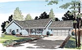 Plan Number 35003 - 1373 Square Feet