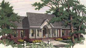 Plan Number 40009 - 1867 Square Feet