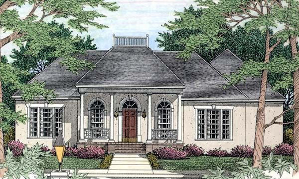 House Plan 40027 Elevation